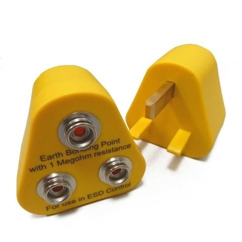 ESD Erdungsbaustein, 3 x 10 mm DK für U.K.