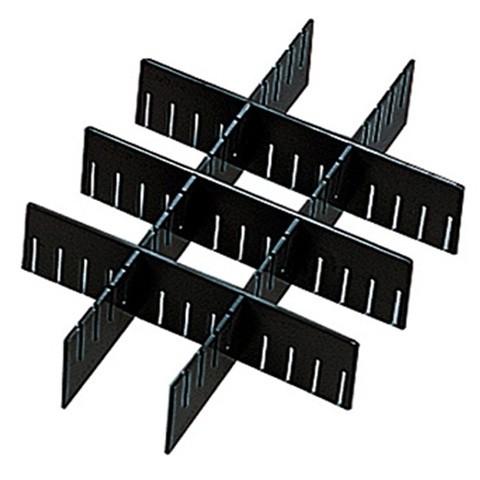 ESD Leitfähige Schlitztrennwand, Höhe 180 mm