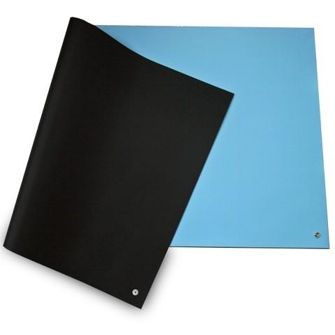 ESD Tischbelag 610 x 1200 mm, blau