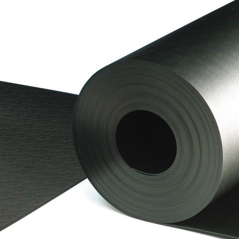 Tisch/Regalbelag Rollenware 1,22 m x 10 m, schwarz