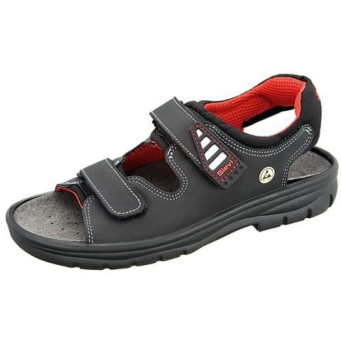 ESD Sandale mit Fersenriemen Gr. 46