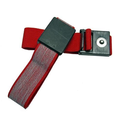ESD Handgelenkband 4 mm DK rot