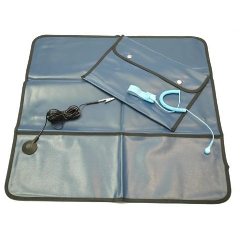 Service Kit mit Tasche, blau
