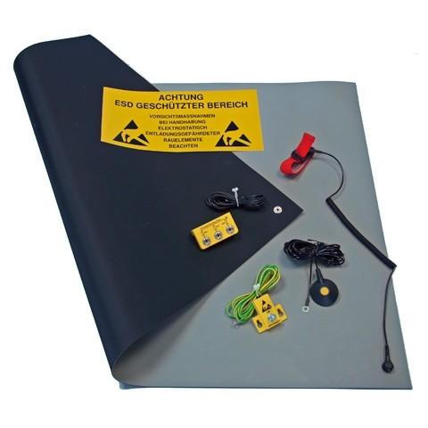 ESD Arbeitsplatz Kit 610 x 900 grau
