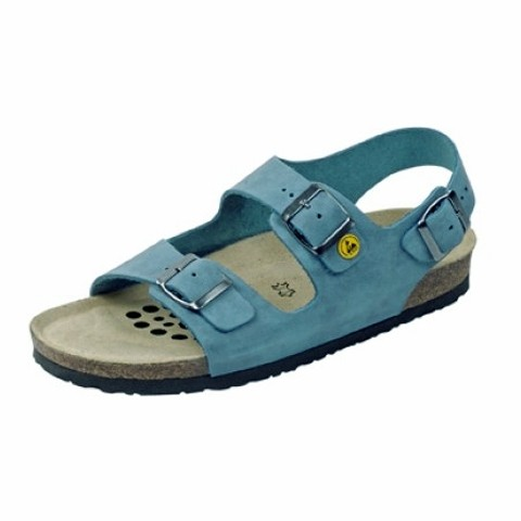 ESD Sandalette blau Gr. 39
