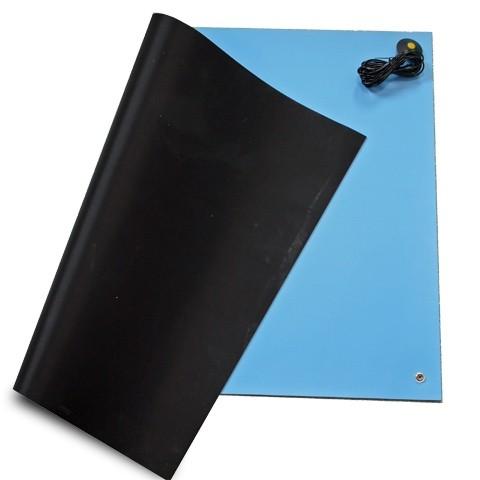 ESD Tischbelag 610 x 900 mm blau