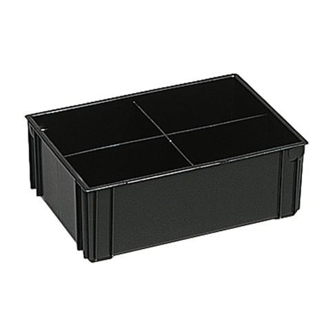 ESD Einsatzkasten für 400 x 300, 4 Unterteilungen