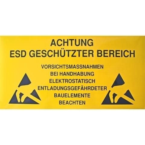 Warnschilder für die EPA