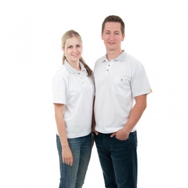 ESD Polo-Shirt, kurzarm weiß Gr.M