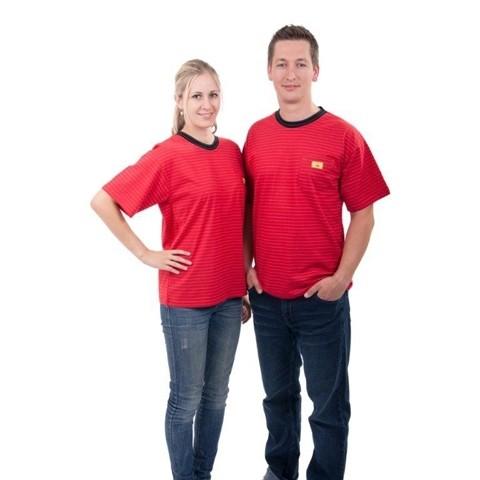 ESD T-Shirt Rundkragen