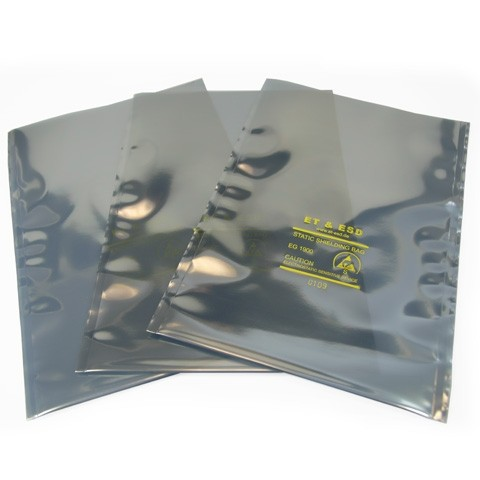 ESD Shielding Bag, 152 mm x 254 mm (VE 100)