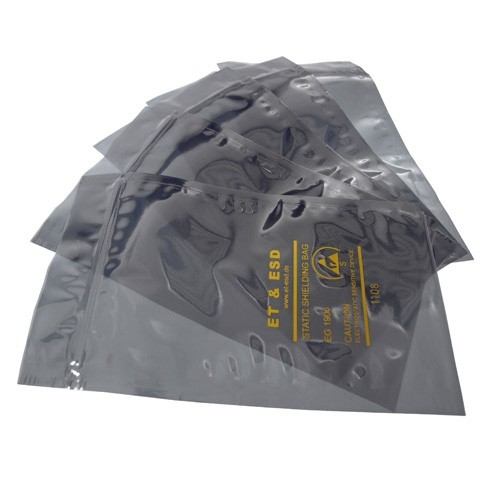 ESD Shielding Bag mit Zipp, 203mm x 254mm (VE100)