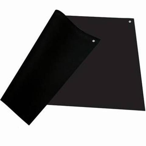 ESD Tisch/Regalbelag 610 x 900 mm, schwarz