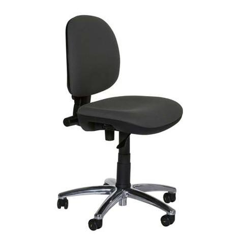 ESD Arbeitsdrehstuhl, ergonomisch mit Rollen