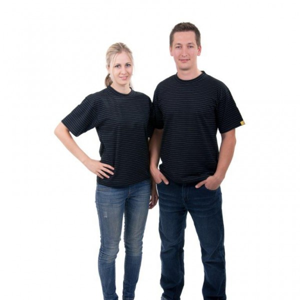 ESD T-Shirt schwarz Gr. M